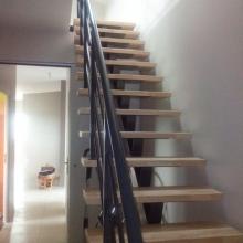 escalier-metal-marches-bois