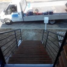 escalier-thermolaqué