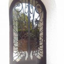 Porte d'entrée en métal sur mesure